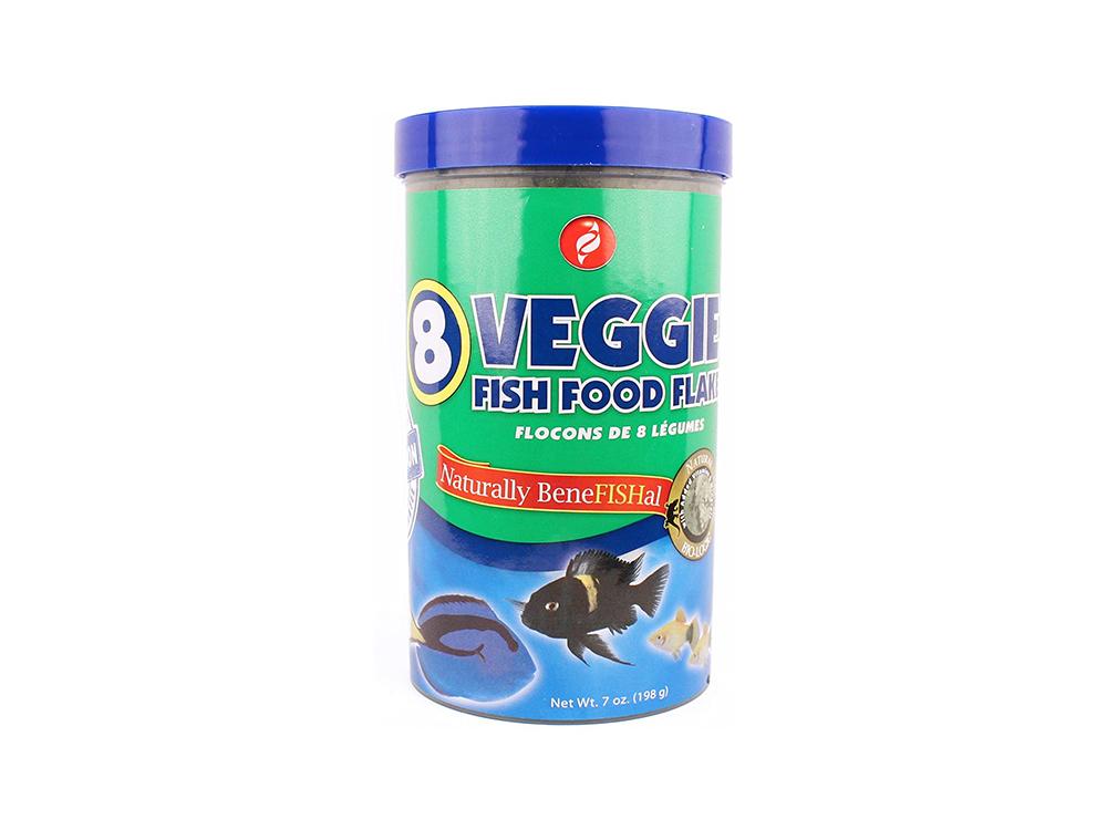 7oz Veggie8 Fish Food by Pisces Pros