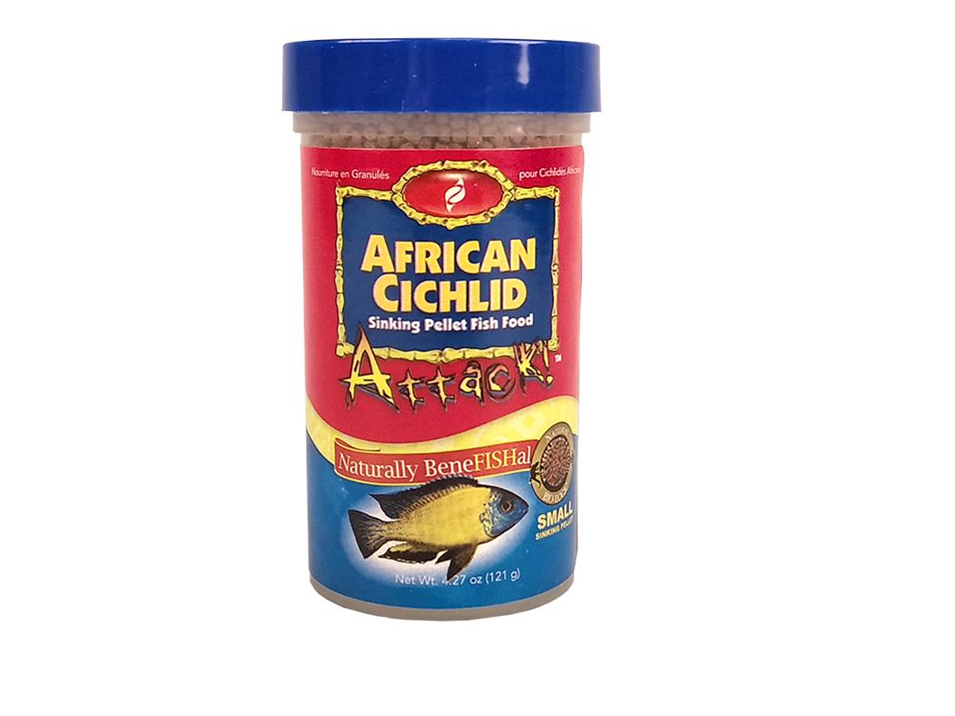 Cichlid Pellet Food 4.27 oz